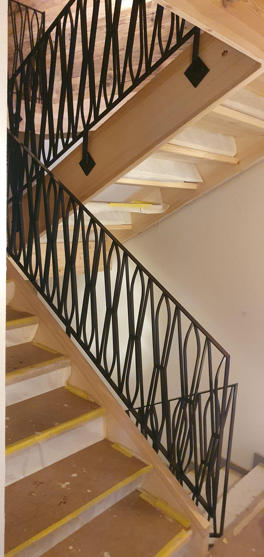 Schmiedeeisernes Treppengeländer