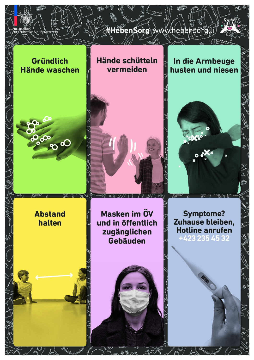 Coronavirus – Hygiene- und Verhaltensregeln