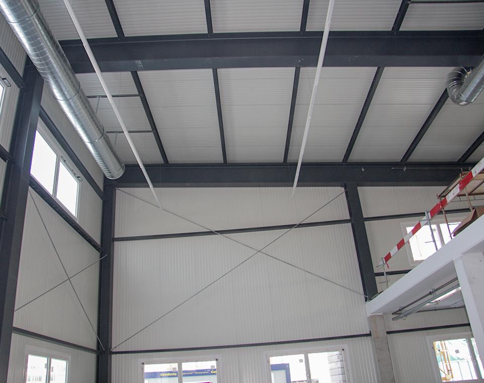 Metallbau Andreas Frick AG Montagehalle